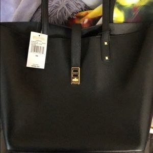 Michael Kors leather tote bag